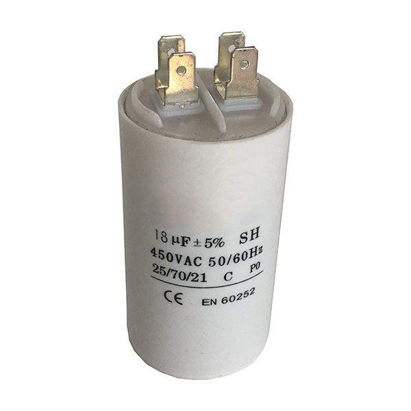 Kondensaattori 18 uF