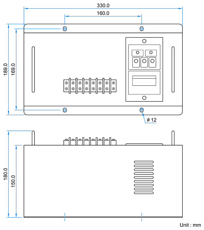 EA45A220 Dimension