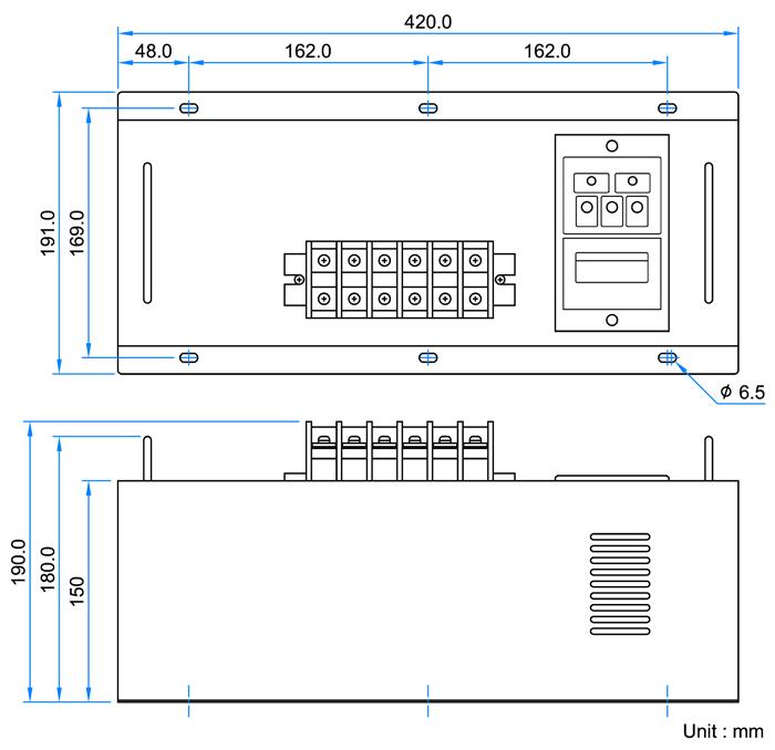 EA75A220 Dimension